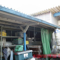 片付け前の倉庫