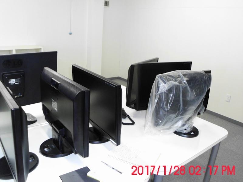 パソコンスクール整理片付け前