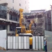 栃木県下野市にて解体工事