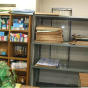 閉鎖に伴う事務所の現場調査