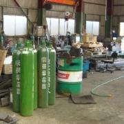 茨城県行方市霞ヶ浦の発泡スチロール製造工場