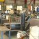 閉鎖する鉄工所の現場調査