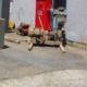工作機械の搬出