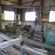 閉鎖に伴う工場の片付け・整理